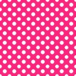 Hot Pink & White Polkadot Paper — Stock Photo