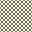 White & Black Polkadot Paper — Stock Photo