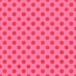 Pink & Hot Pink Polkadot Paper — Stock Photo