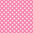 Pink & White Polkadot Paper — Stock Photo