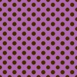Purple & Brown Polkadot Paper — Stock Photo