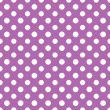Purple & White Polkadot Paper — Stock Photo