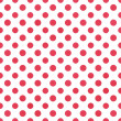 White & Pink Polkadot Paper — Stock Photo