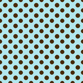 Light Blue & Brown Polkadot Paper — Stock Photo