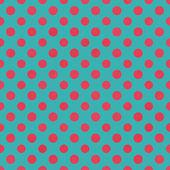 Blue & Hot Pink Polkadot Paper — Stock Photo