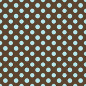 Brown & Blue Polkadot Paper — Stock Photo