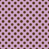 Light Purple & Brown Polkadot Paper — Stock Photo