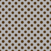 Gray & Brown Polkadot Paper — Stock Photo