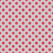 Gray & Raspberry Polkadot Paper — Stock Photo