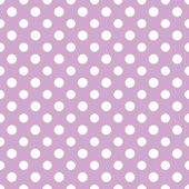 Light Purple & White Polkadot Paper — Stock Photo