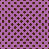 Purple & Brown Polkadot Paper — Stock Photo