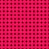 Hot Pink & Black Mini Polkadot Paper — Stock Photo