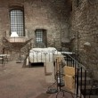View of a bedroom medieval, Perugia — Stock Photo
