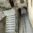 View of steep staircase in city of Perugia — стоковое фото #10385979