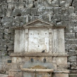 View of a fountain near of the city of Perugia — Stock Photo #10386006