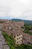 Vista panoramica della città di perugia — Foto Stock