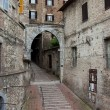 Alley in the historic center of Perugia — Stock Photo
