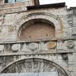 Etruscan Arch in the historical center of Perugia — Stock Photo #10416042