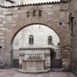 Стоковое фото: Famous fountains in center of Perugia