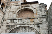Etruscan Arch in the historical center of Perugia — Stock Photo