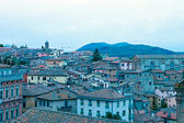 Panoramic view of the city of Perugia — Stock Photo