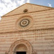 Stock Photo: View of church in Assisi