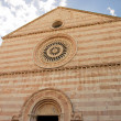 View of the church in Assisi — Stock Photo