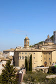 Panoramic view of the old city of Assisi — Stock Photo