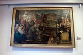 A painting in the Art Gallery of Assisi — Stock Photo
