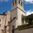Stock Photo: Consul Palace in historic center of Gubbio