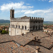 Consul Palace in the historic center of Gubbio — Stock Photo #10497406