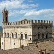 consul palace in the historic center of gubbio — Stock Photo