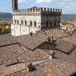 Panoramic view of the city of Gubbio — Stock Photo