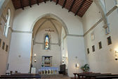 Interior of a Church in the center of Gubbio — Foto de Stock