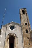 Church in the historic center of Gubbio — Foto de Stock