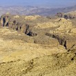 Rocky desert of southern Jordan in Asia — Stock Photo
