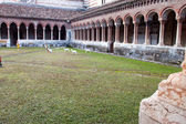 Courtyard Basilica of San Zeno — Stock Photo