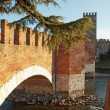 Stock Photo: Bridge of Castelvecchio