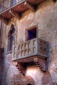 View of Balcony of Juliet in Hdr — Stock Photo
