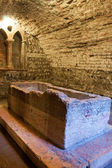 The Juliet's Tomb in Verona — Stock Photo
