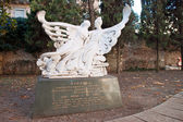 Romeo and Juliet Memorial Monument — Stock Photo