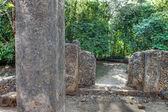 Antiguas ruinas de gede en hdr — Foto de Stock