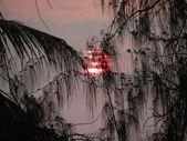 Ver una espectacular puesta de sol — Foto de Stock
