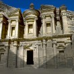 Monastery of Petra — Stock Photo #8954334