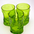 Green glasses — Stock Photo
