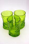 Groen glazen — Stockfoto