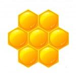 a nido d'ape — Foto Stock