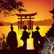 Postcard sights of Japan — Stock Photo