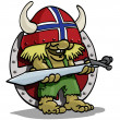 Stock Photo: Norwegians troll