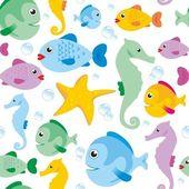 O mundo do mar — Foto Stock